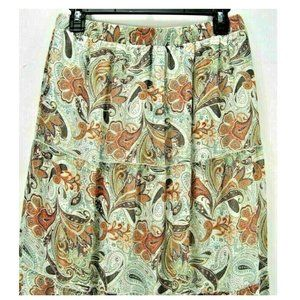 """Wet Seal  Womens S (28"""" X 39"""") Lined Tier Skirt"""